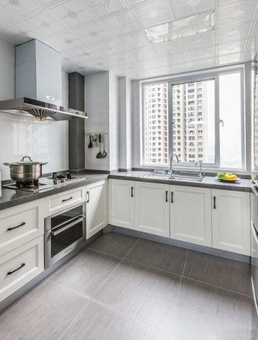 厨房橱柜简约风格装饰效果图