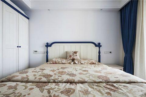 卧室窗帘混搭风格效果图