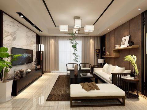 18万预算160平米四室两厅装修效果图