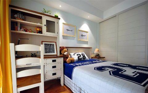 卧室书桌新中式风格装修效果图
