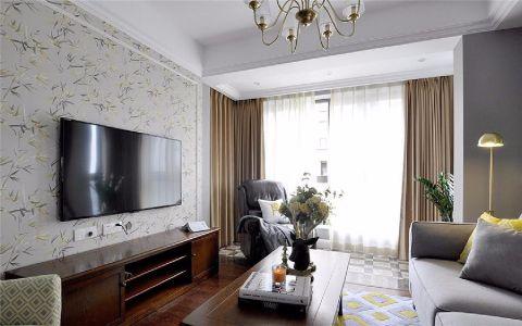 6.7万预算100平米三室两厅装修效果图