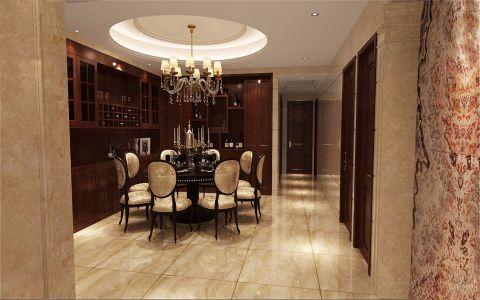餐厅走廊欧式风格装饰效果图