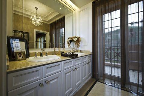 卫生间推拉门欧式风格装饰图片