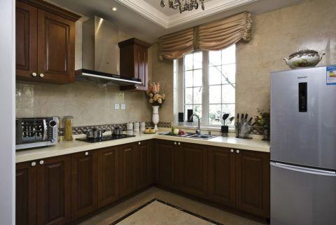 厨房橱柜欧式风格装修设计图片