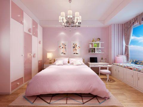 儿童房窗帘现代风格装修效果图