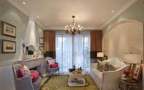 10万预算110平米三室两厅装修效果图