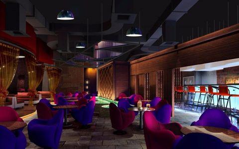 简欧风格咖啡厅装修效果图