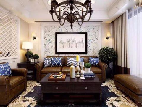 9万预算140平米三室两厅装修效果图