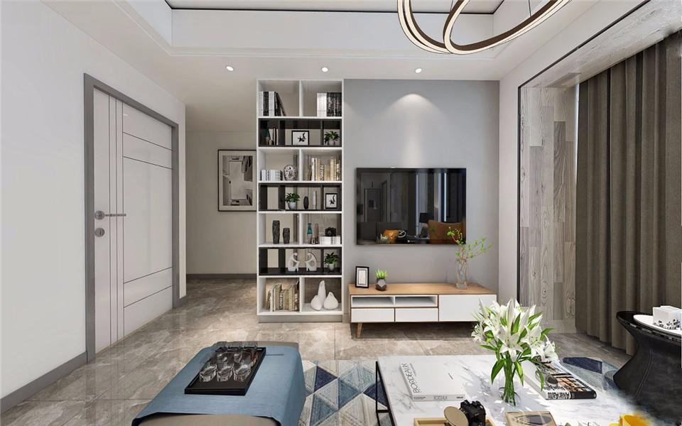 3室2卫2厅98平米简约风格