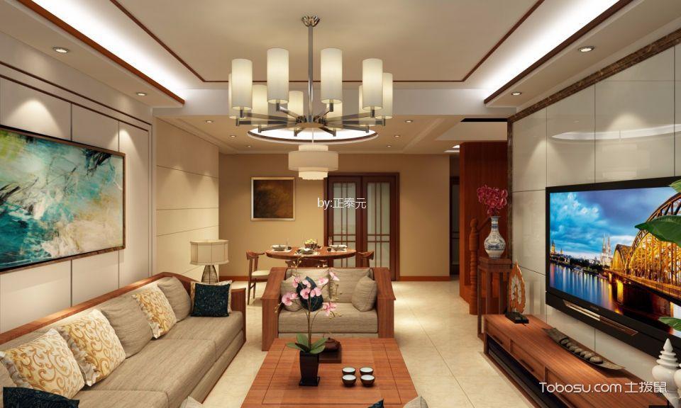 中式风格250平米别墅新房装修效果图