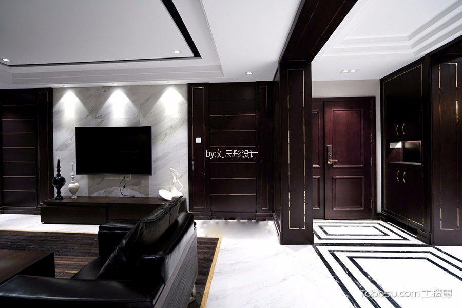 现代风格210平米四室两厅新房装修效果图