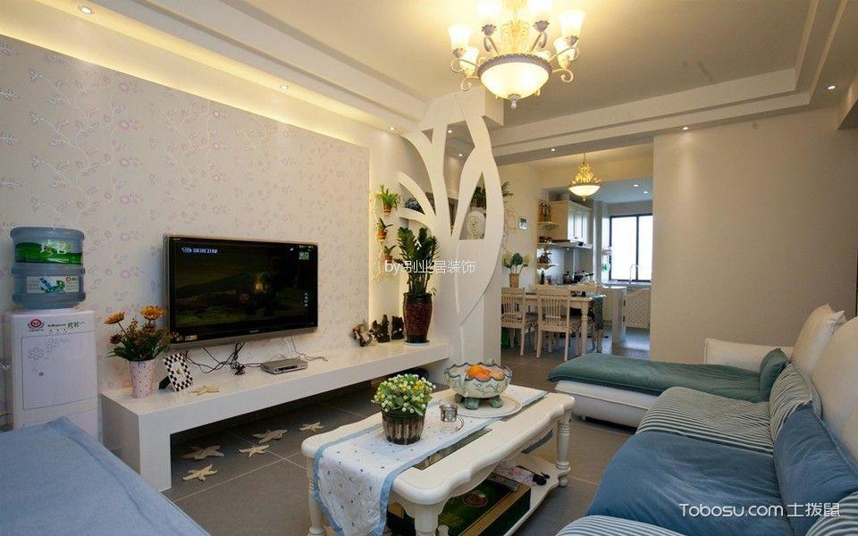 110平现代简约三居室装修效果图