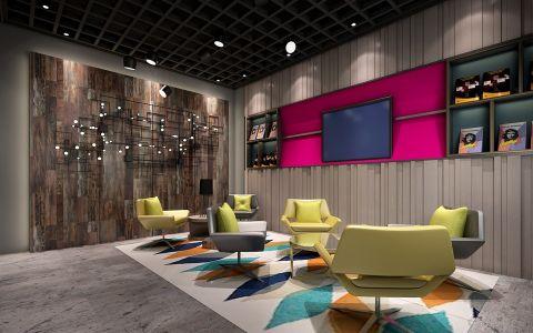 南通240平米画室个性设计学校装修效果图