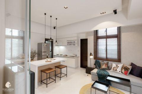 2020地中海110平米装修设计 2020地中海二居室装修设计