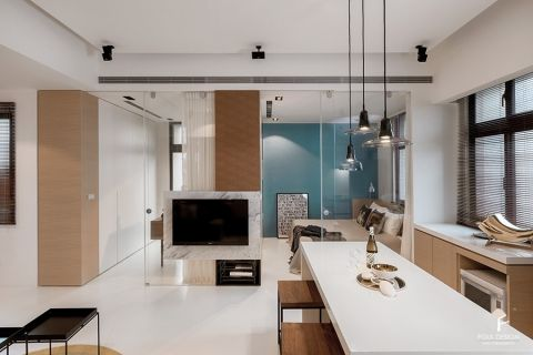 2020现代简约60平米以下装修效果图大全 2020现代简约公寓装修设计