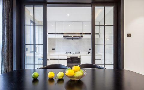 质感咖啡色厨房室内装饰