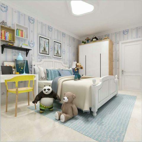 华丽儿童房现代装饰图