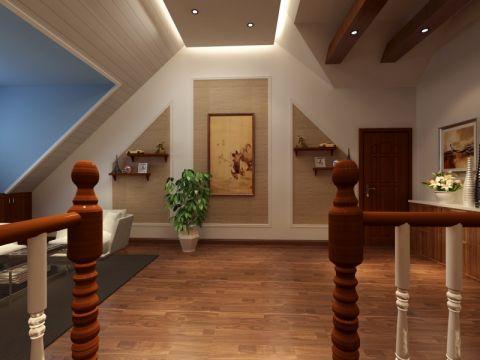中式客厅地板砖装饰图