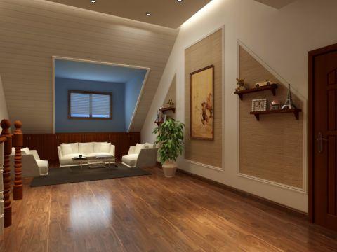 清新素丽客厅室内装饰