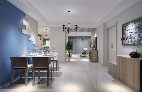 典雅白色餐厅效果图图片