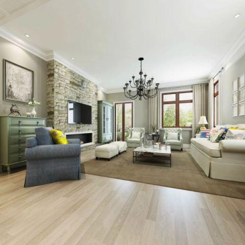客厅窗帘现代简约设计图欣赏
