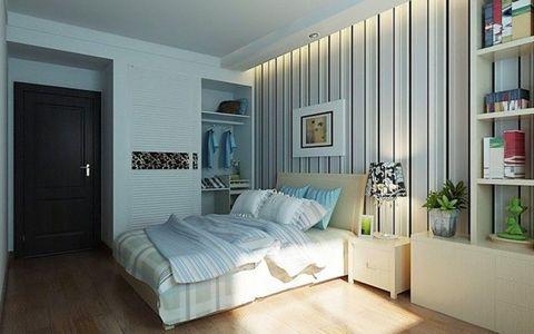 卧室床头柜现代简约装修案例