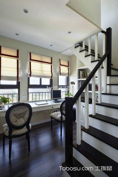 奢华大气书房楼梯室内装修图片