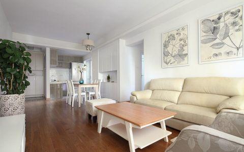 纯净客厅现代简约装修图