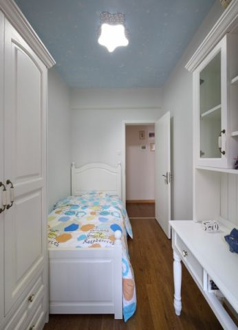 儿童房吊顶现代简约风格装潢设计图片