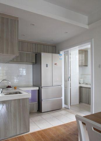 厨房灰色橱柜装饰图片