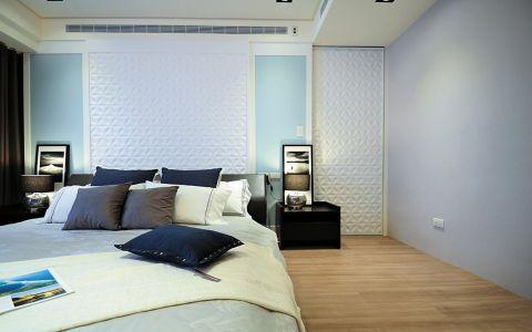 卧室黑色床头柜案例图片