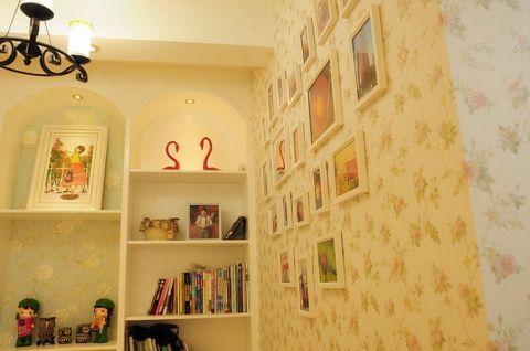 精致黄色照片墙设计