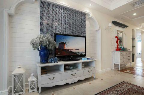 精致白色电视柜设计方案