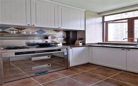 美式厨房橱柜装修图