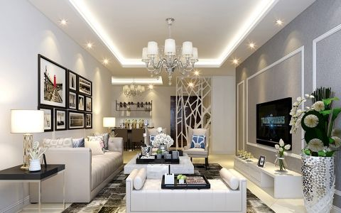 典雅客厅装饰设计