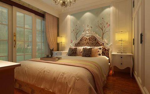 写意白色卧室装修实景图片