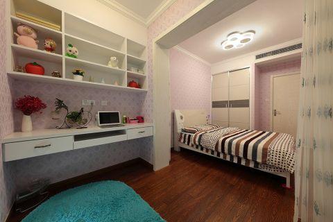 卧室白色床现代风格效果图