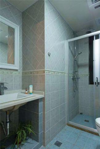 美式卫生间地砖设计