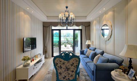 2019地中海客厅装修设计 2019地中海吊顶设计图片