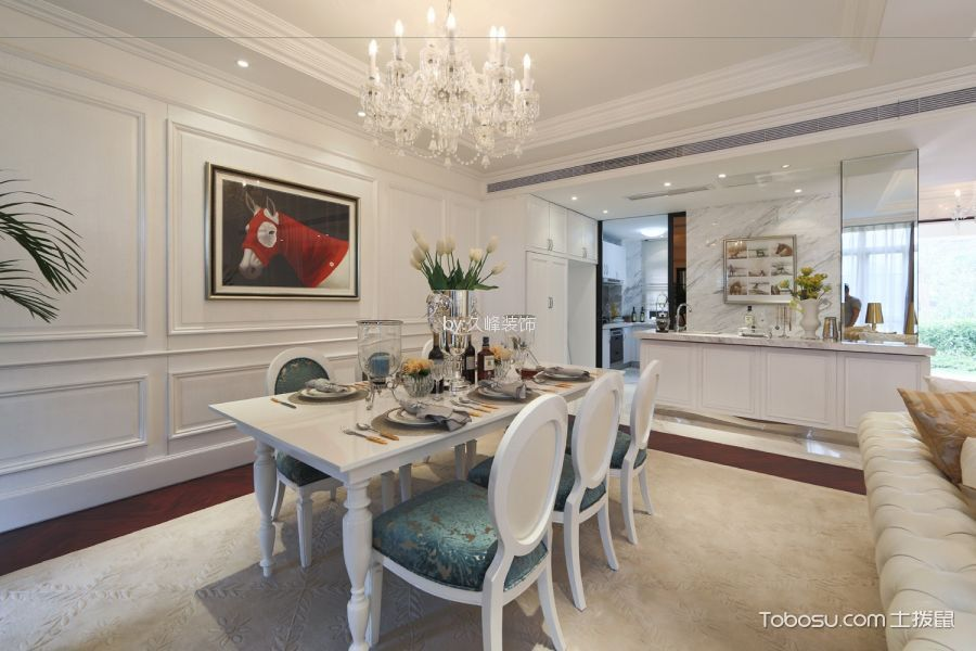 简欧风格145平米套房室内装修效果图