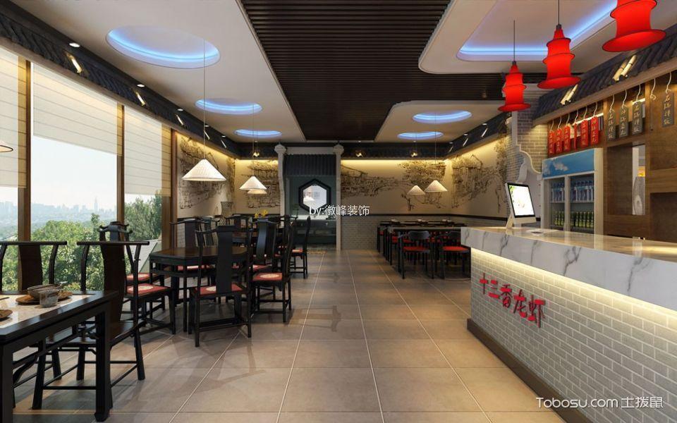 十三香龙虾旗舰店餐馆餐厅吧台装修图片高清
