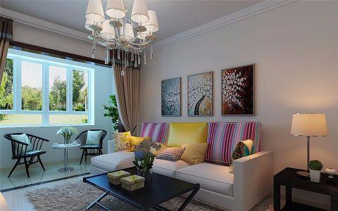 2020现代简约90平米装饰设计 2020现代简约楼房图片