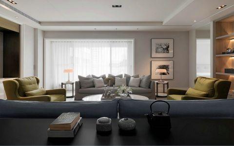 宜家花园现代简约风格四居室装修效果图