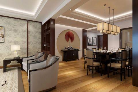 餐厅吊顶日式风格装饰设计图片