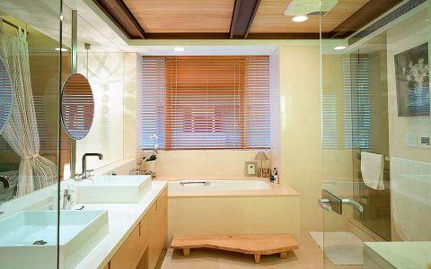 卫生间窗台新中式风格装饰设计图片