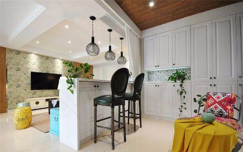 客厅吧台现代简约装饰设计图片