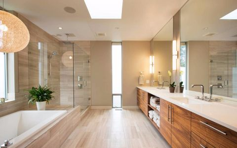 卫生间洗漱台日式风格装潢图片