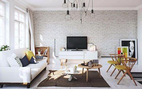 北欧风格100平米复式新房装修效果图