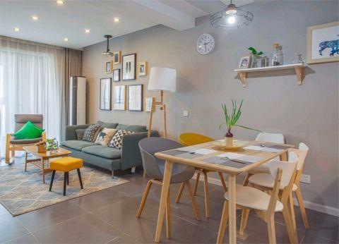 北欧风格198平米四室两厅新房装修效果图