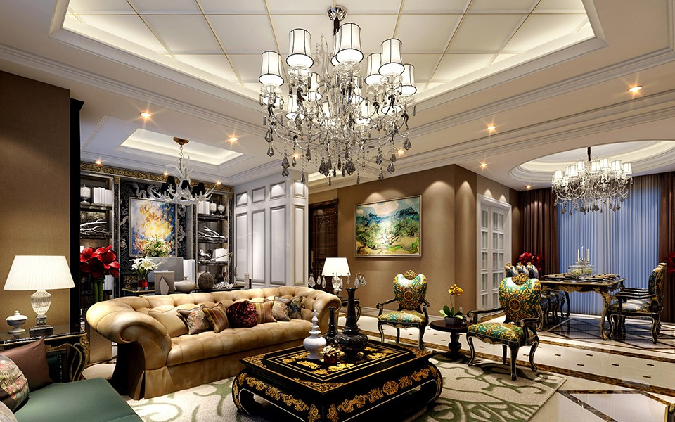 6室3卫2厅280平米欧式风格